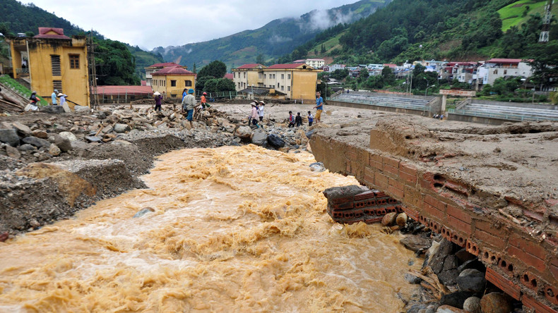 Mindestens 26 Tote bei Überschwemmungen in Vietnam