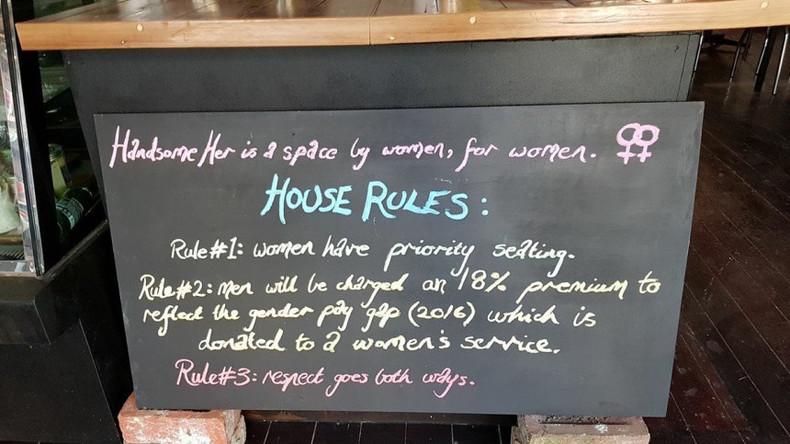 Australien: Café in Melbourne verlangt bei männlichen Kunden einen Zuschlag von 18 Prozent
