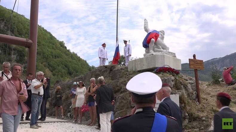 Italien: Denkmal für in Palmyra getöteten russischen Offizier Prokhorenko enthüllt