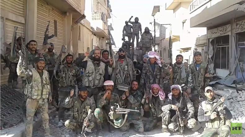 Syrien: SAA befreit in jüngstem Vormarsch al-Sukhna von Militanten