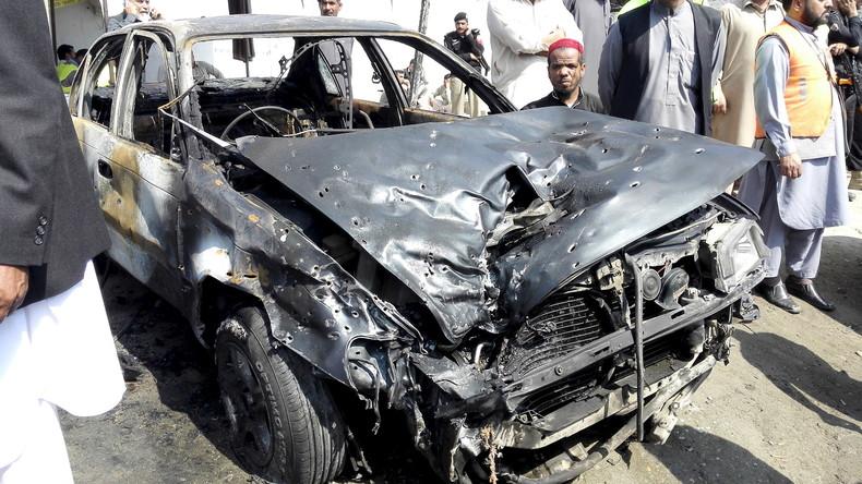 Pakistan: Lastwagen mit Sprengstoff explodiert in Lahore, Dutzende Verletzte