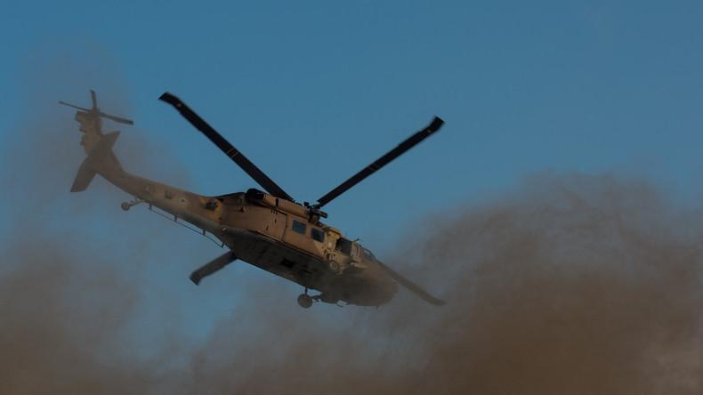 Apache-Hubschrauber stürzt auf Militärstützpunkt in Israel ab