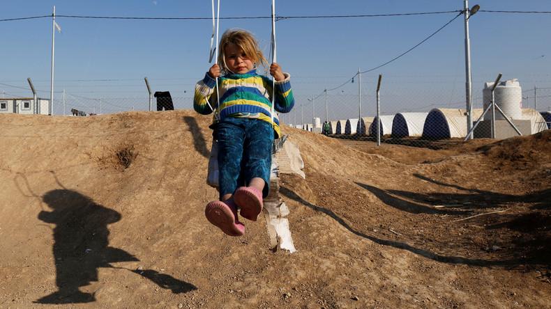 """""""Bomben und kein Essen"""": RT spricht mit russischen IS-Waisen in einem Kinderheim in Bagdad"""