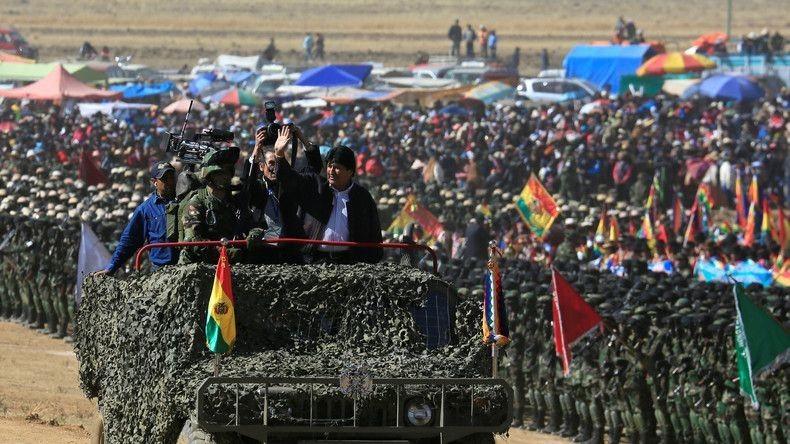 Bolivien: Evo Morales bietet Maduro Unterstützung an und greift die USA scharf an