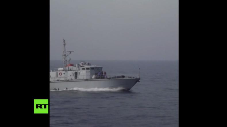 Mittelmeer: EU-finanzierte libysche Küstenwache bedrängt Rettungsschiff mit Warnschüssen