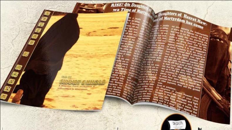 """Islamistische """"Brigitte"""": Extremisten geben Frauenzeitschrift mit Dschihad-Rezepten heraus"""