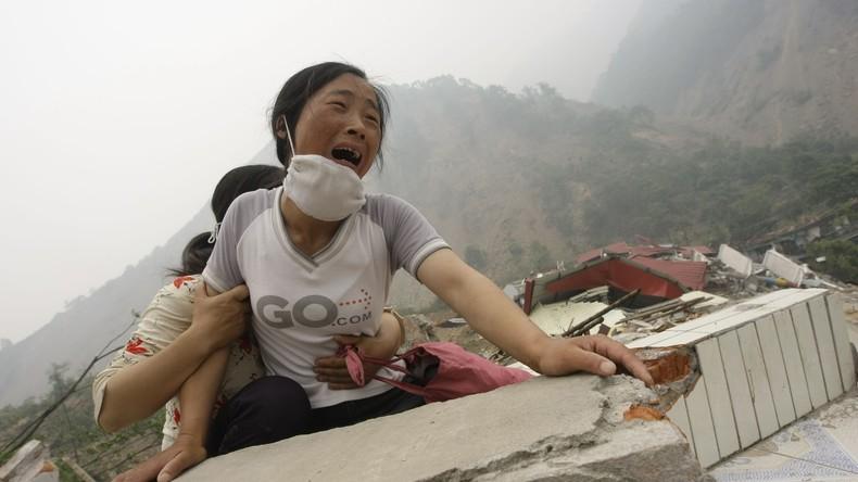 Über 100 Tote nach schwerem Erdbeben der Stärke 7,0 in der Region Sichuan vermutet