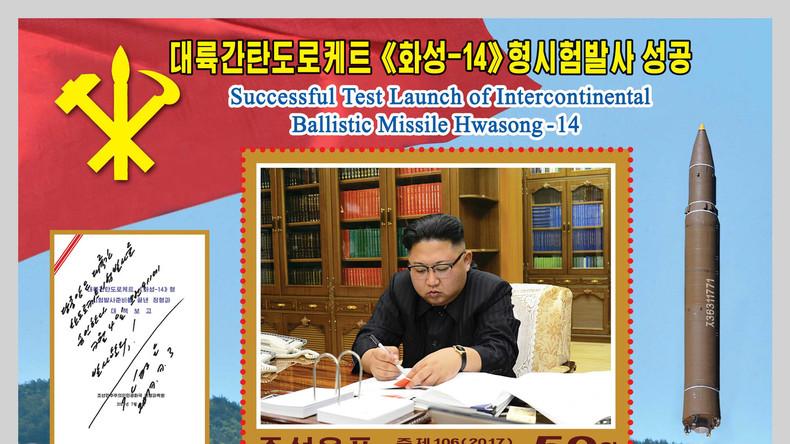 Nordkorea soll mit neuem Miniatur-Nuklear-Sprengkopf die USA angreifen können