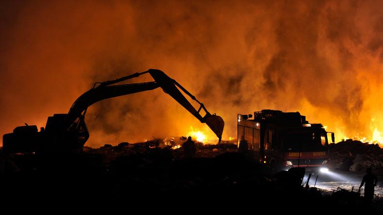 Bei Interpol-Operation über 1,5 Millionen Tonnen illegalen Müll entdeckt