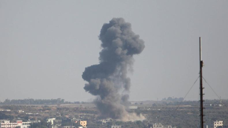 Israel beschießt Hamas-Objekte als Antwort auf Raketenangriff