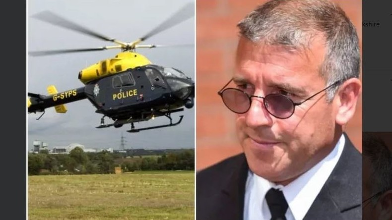 Britischer Polizist filmt Nackte aus Hubschrauber und muss für ein Jahr in Haft