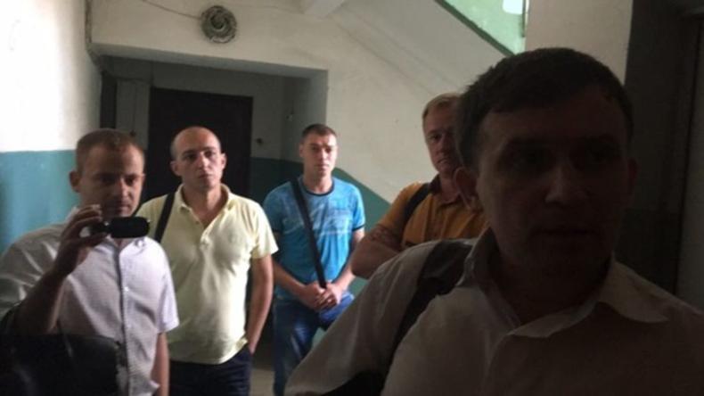 Ukrainischer Geheimdienst durchsucht Redaktion von Internetportal