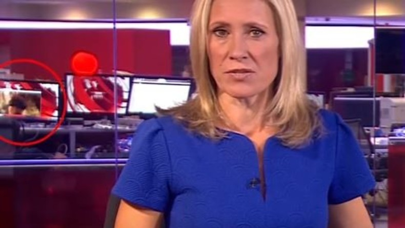 BBC-Mitarbeiter schaut Nackt-Video in Livesendung