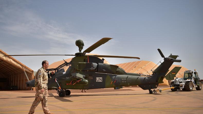 Bundeswehr in Mali: Kampfhubschrauber Tiger hatte vor Absturz Rotorblätter verloren