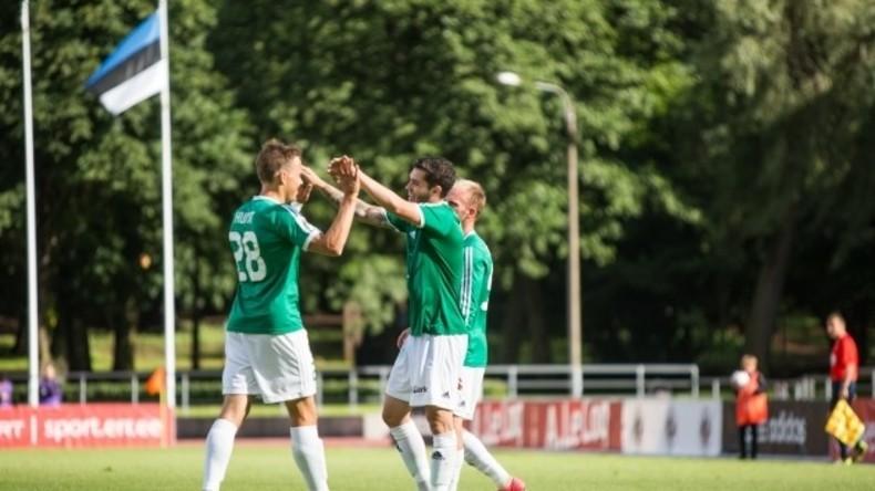 Estnische Fußballmannschaft schießt Tor 14 Sekunden nach Spielstart, ohne den Ball auch zu berühren