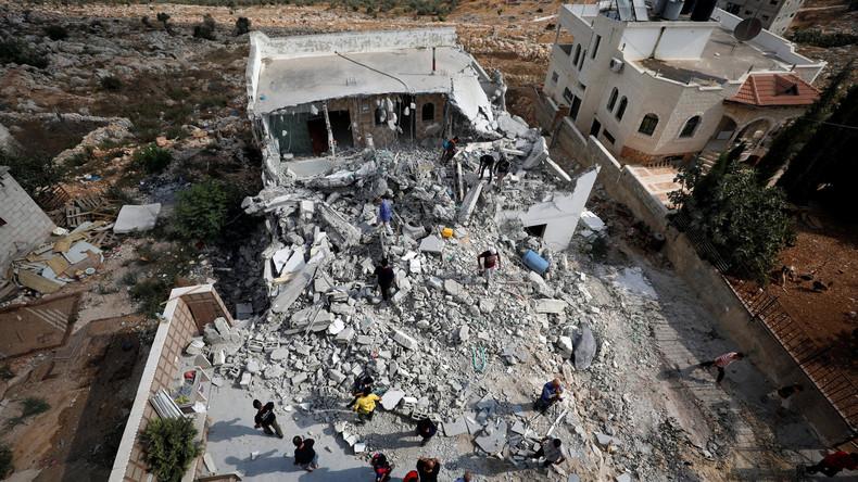 Israel zerstört Häuser von palästinensischen Attentätern