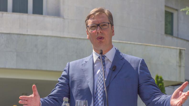 """Serbien unter Druck wegen guter Beziehung zu Russland - Vučić: """"Wir entscheiden jetzt selbstständig"""""""