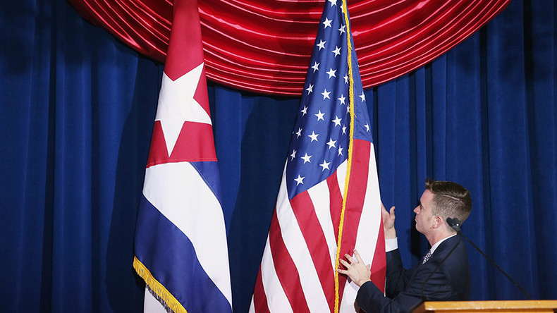 """""""Unberechtigt und haltlos"""" - Kuba zu Ausweisung von Diplomaten aus Washington"""