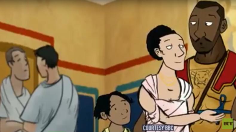 BBC-Cartoon über römisches Britannien: Streit um Darstellung schwarzer Römer