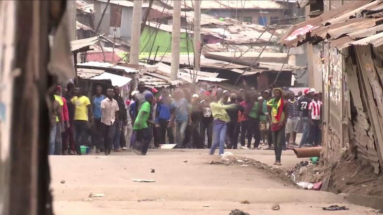Kenia: Einwohner von Nairobi protestieren gegen Wahl – Sicherheitskräfte setzen Tränengas ein