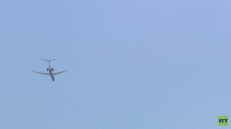 Washington: Russisches Militärflugzeug fliegt über das Weiße Haus