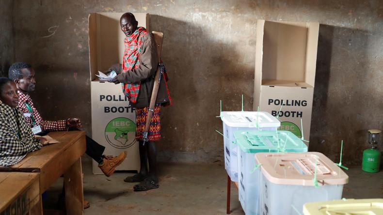 Hacker greifen erfolglos kenianische Wahl-Datenbank an