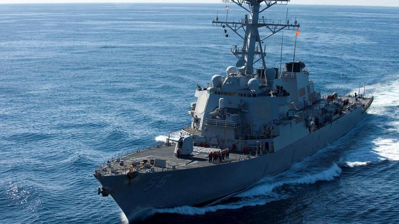 China beschuldigt US-Kriegsschiff internationale Gesetze verletzt zu haben