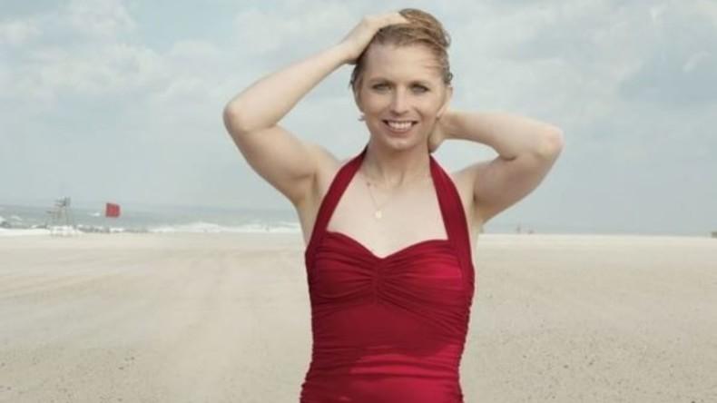 """Chelsea Manning in  """"Vogue"""" - von Annie Leibovitz fotografiert"""