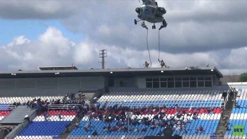 Russland: SCO-Mitgliedsstaaten führen Anti-Terror-Übung in der Region Jaroslawl durch