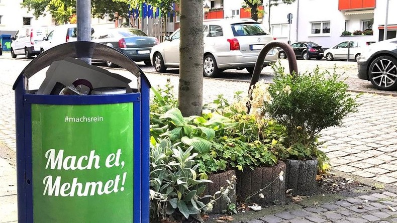 Achtung Sommerloch: Künstliche Aufregung um vermeintlich rassistische Papierkörbe in Duisburg