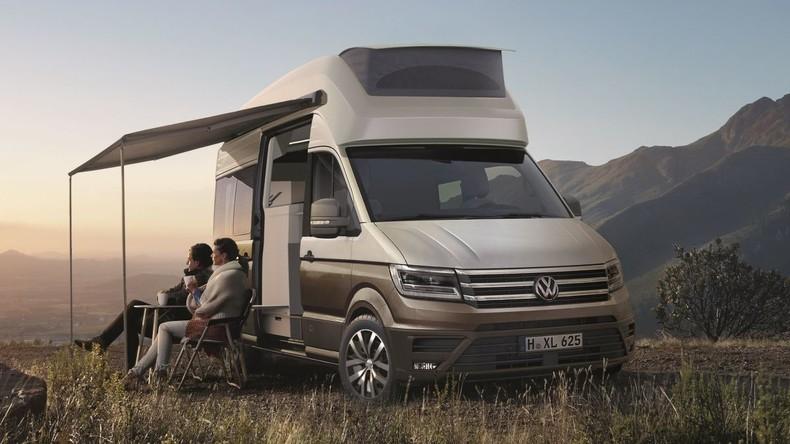 Deutscher Luxus bei Reisen - Volkswagen zeigt sein neues zweistöckiges Wohnmobil [FOTOS]