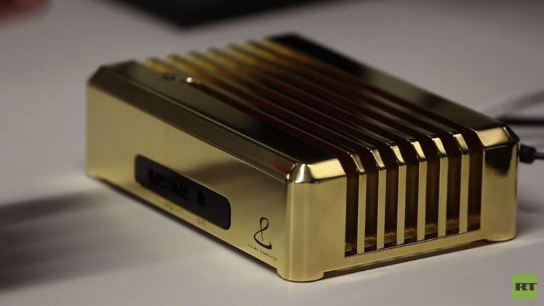 Schweiz: Luxus-Computer aus sieben Kilogramm Gold für eine Million US-Dollar
