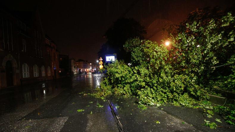 Heftige Stürme in Osteuropa: Fünf Tote in Polen und Schäden in Tschechien