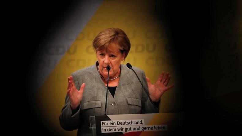 LIVE: Merkel bestreitet Wahlkampfauftritt in Dortmund