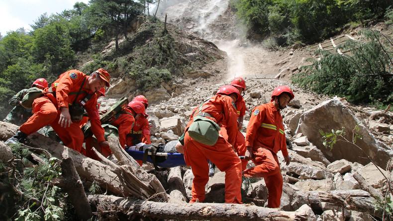 Erdbeben in Sichuan: Zahl der Opfer steigt auf 25