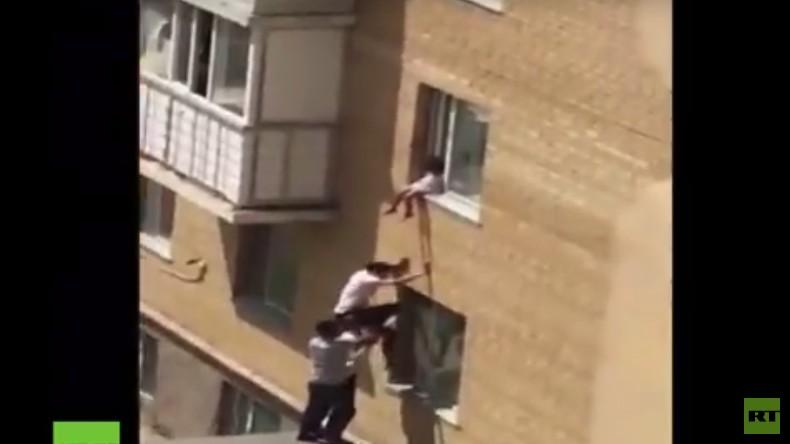 Kasachstan: Ein russischer LKW und etwas Akrobatik retten Mädchen das Leben