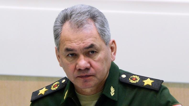Russlands Verteidigungsminister bittet Hilfsorganisationen um mehr Engagement in Syrien