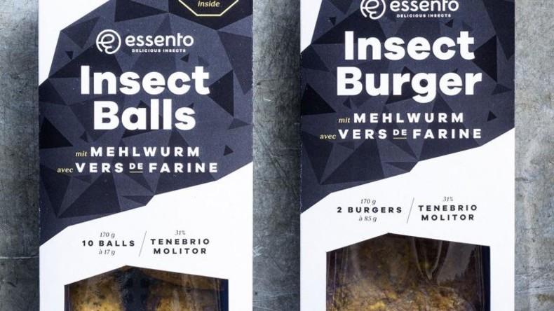 Schweizer Supermarkt verkauft demnächst Insekten-Burger