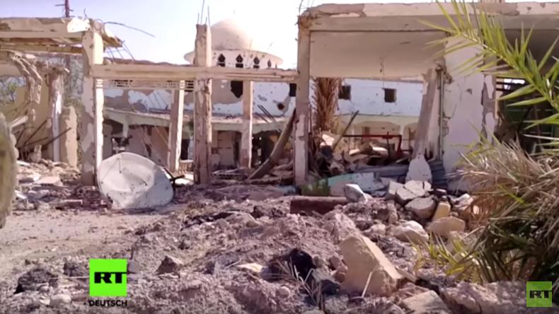 Syrien: SAA erlangt im Vormarsch auf Deir Ez-Zor volle Kontrolle über Al-Sukhnah