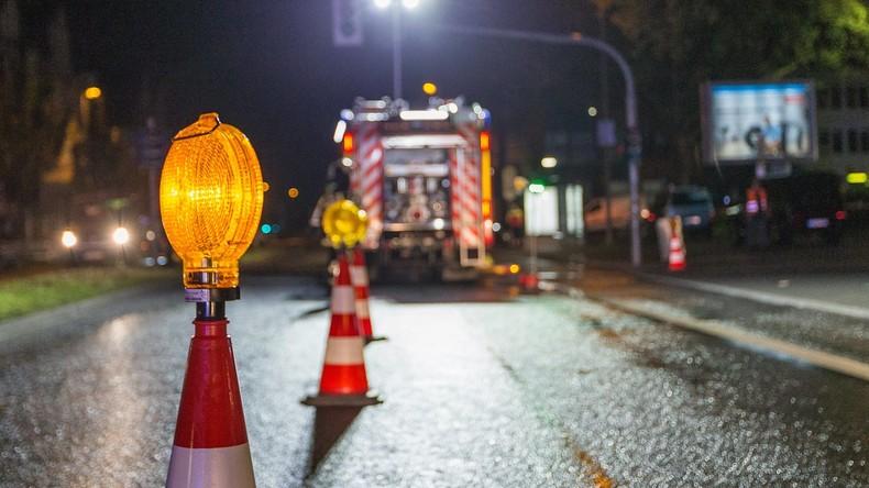 Austritt von Chemikalien löst Großalarm in Niedersachsen aus