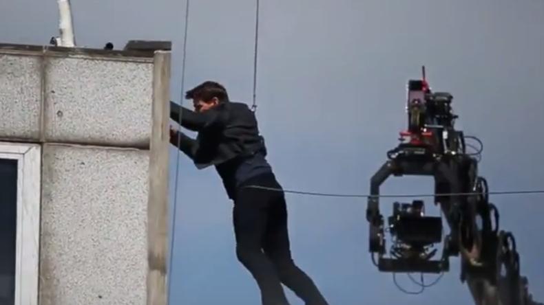 """Tom Cruise verletzt sich bei Dreharbeiten zu """"Mission: Impossible 6"""" (Video)"""