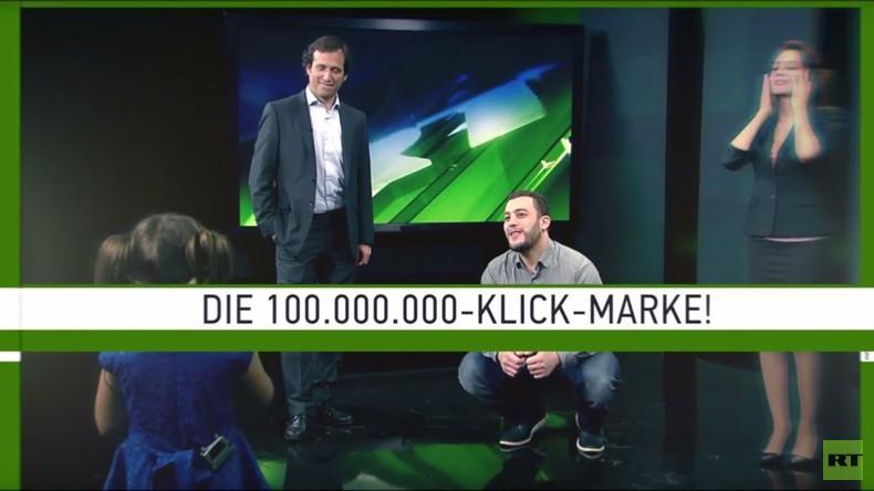 100 Millionen Views auf Youtube: Die besten Momente mit RT-Deutsch