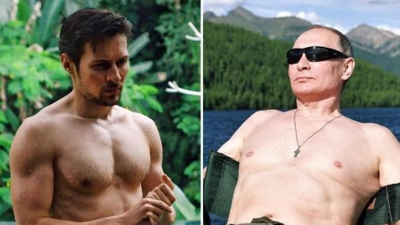 Halbnackte Männer wetteifern mit Wladimir Putin auf Instagram [FOTOS]
