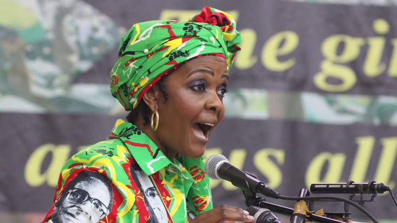 Simbabwes First Lady soll wegen Attacke mit Verlängerungskabel auf junges Model vor Gericht