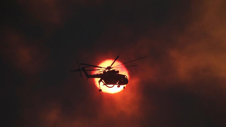 Waldbrände in Griechenland eingedämmt