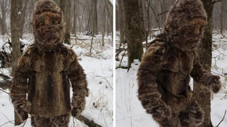 Yeti unter uns: Schneemenschen-Jäger stoßen auf zotteligen Heiden, der sie mit Steinen bewirft