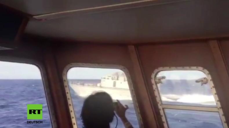 Libysche Küstenwache beschlagnahmt Flüchtlingsrettungsschiff von spanischer NGO
