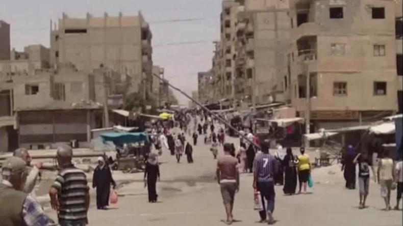Syrien: Leben unter Belagerung des IS - Exklusivaufnahmen aus Deir ez-Zor