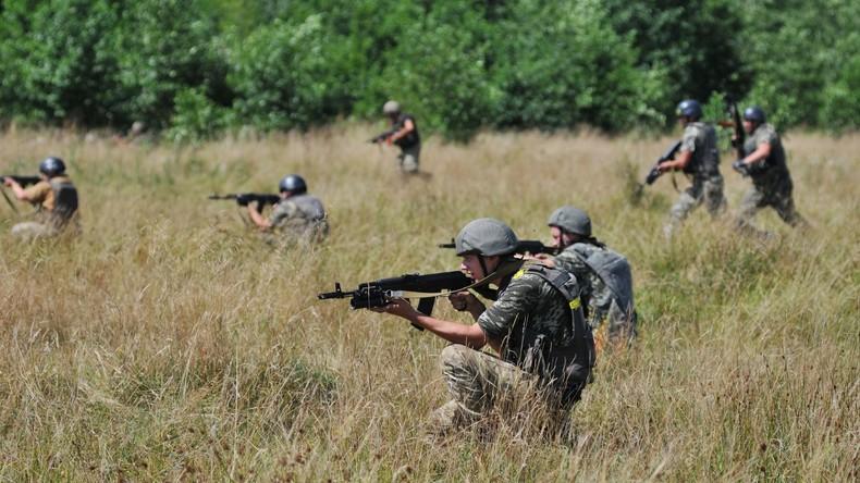 USA bilden ukrainische Aufklärer für Sonderoperationen im Donbass aus