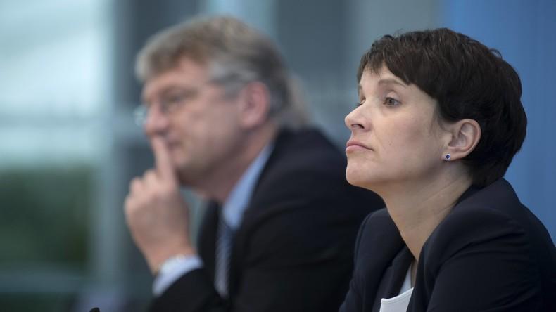 Sächsischer Landtag stimmt für Aufhebung der Immunität von AfD-Chefin Petry ab